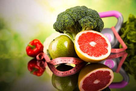 Foto de Healthy lifestyle concept, Diet and fitness - Imagen libre de derechos
