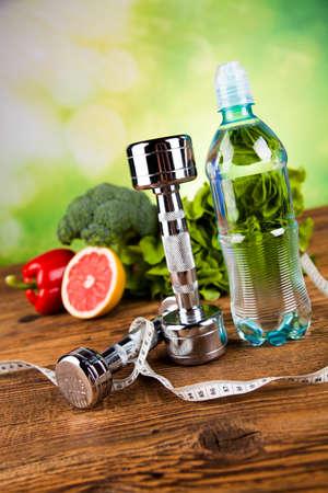 Photo pour Healthy lifestyle concept, Diet and fitness - image libre de droit