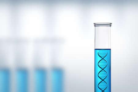 Foto de Conceptual - DNA research or testing in a laboratory - Imagen libre de derechos