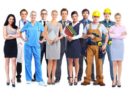 Foto de Group of professional workers   - Imagen libre de derechos