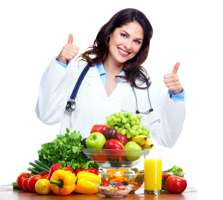 Photo for Nutritionist doctor woman - Royalty Free Image