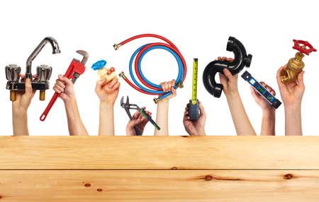 Foto de Set of construction tools. House renovation background. - Imagen libre de derechos
