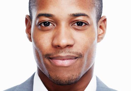Photo pour African American man. - image libre de droit