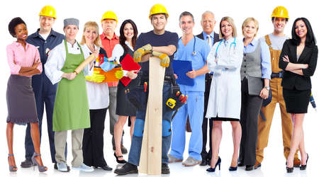 Photo for Group of workers people. - Royalty Free Image
