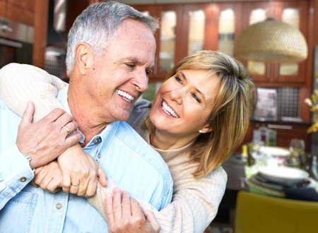Foto de Happy senior couple. - Imagen libre de derechos