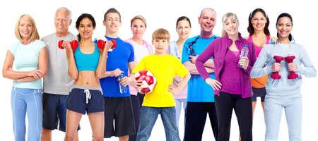 Foto de Group of fitness people. - Imagen libre de derechos