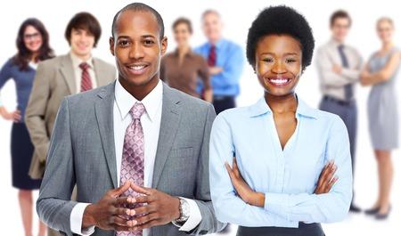Foto de Business people team. - Imagen libre de derechos