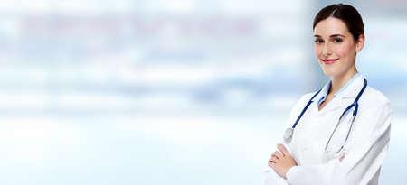 Foto de Medical doctor woman. - Imagen libre de derechos