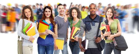 Photo pour Students. - image libre de droit