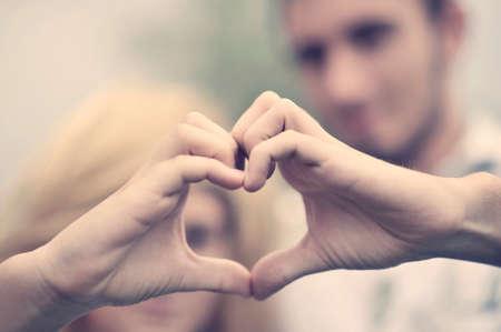 Photo pour Boy and girl. Love concept - image libre de droit