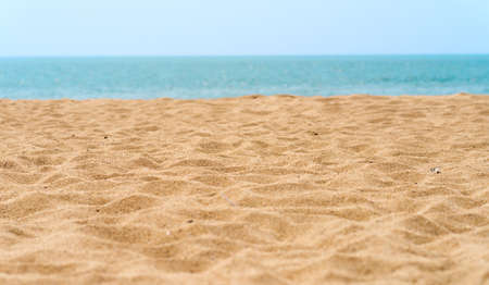 Photo pour beautiful sand beach - image libre de droit