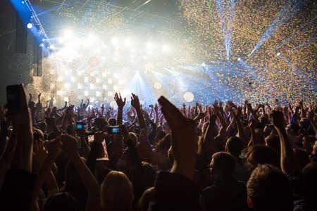 Photo pour Fun party disco background - image libre de droit
