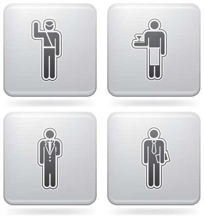 Man's Occupation  (part of Platinum Square 2D Icons Set)