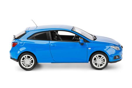 Foto de Toy car isolated on white background - Imagen libre de derechos