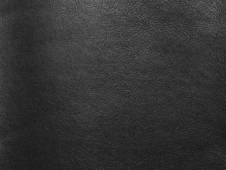 abstract natural black leather background close-up