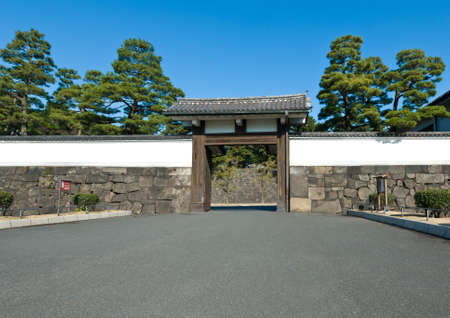 Photo for Palace/ City gate, unprotected, open on a sunny day - Royalty Free Image