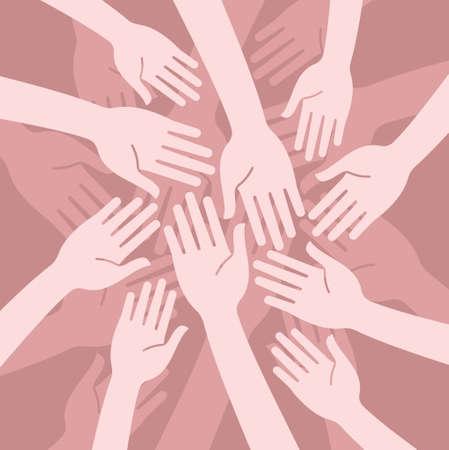Ilustración de concept of unity - Imagen libre de derechos