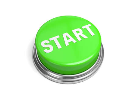 Photo pour A green button with the word start on it - image libre de droit