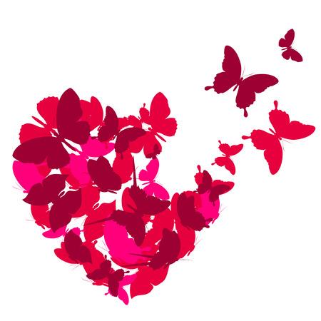 Illustration pour love hearts, - image libre de droit