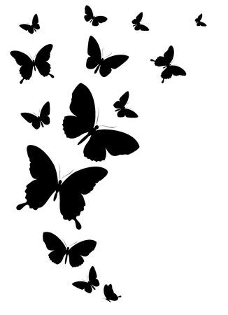 Illustration pour butterflies design - image libre de droit