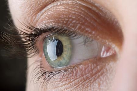 Foto de Macro image of human eye - Imagen libre de derechos