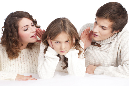 Photo for Parents talking to their child - Royalty Free Image