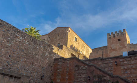 Photo pour Beautiful medieval city of Caceres in Extremadura - image libre de droit