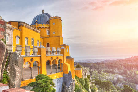 Photo for Palace of Pena - Sintra, Lisboa, Portugal - Royalty Free Image