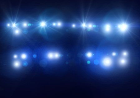 Foto de Background image with defocused blurred stage lights - Imagen libre de derechos