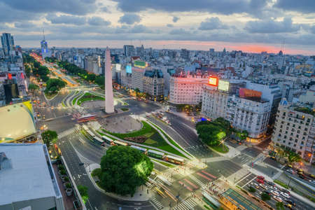 Photo for The Capital City of Buenos Aires in Argentina - Royalty Free Image