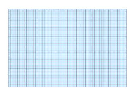 Illustration pour A4 graph paper standard for printing with  cm and 5 mm separators   - image libre de droit
