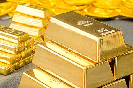 Photo pour A large amount of gold - image libre de droit