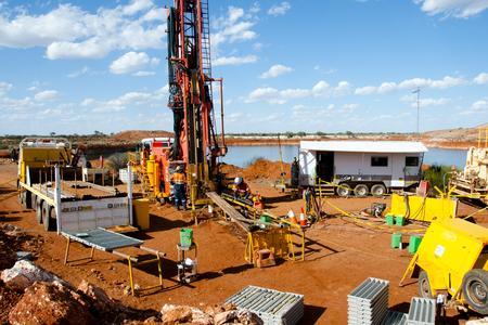 Foto de Core Drilling for Exploration - Imagen libre de derechos