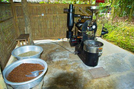 Foto de Industrial Coffee Beans Grinder - Indonesia - Imagen libre de derechos