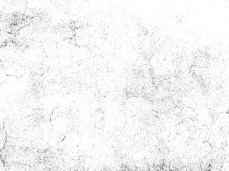 Illustration pour Gravel texture overlay. Subtle grain texture isolated on white background. Abstract grunge white and black background. Vector illustration. - image libre de droit
