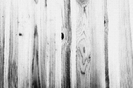 Illustration pour Subtle halftone vector wooden texture overlay. Monochrome abstract splattered background. - image libre de droit