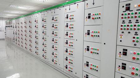 Foto de 400V Motor control center - Imagen libre de derechos