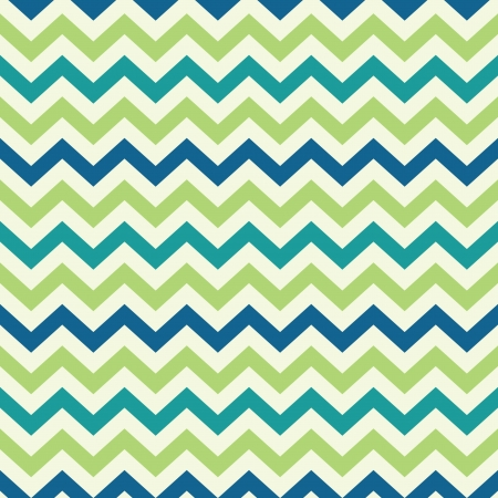 Illustration for vintage popular zigzag chevron pattern - Royalty Free Image