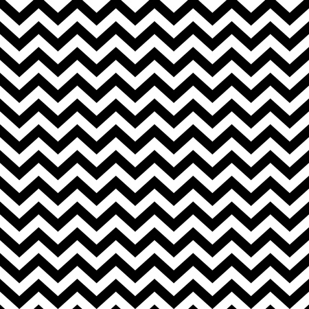 Illustration for popular vintage zigzag chevron pattern - Royalty Free Image