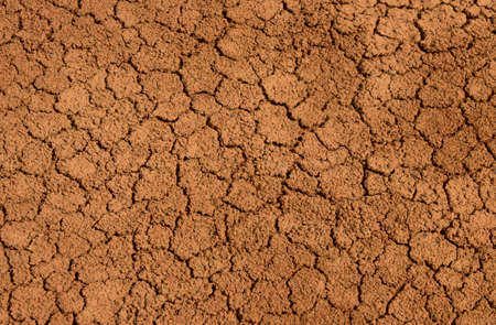 Photo for Background of red clay, the real desert.  soil - Royalty Free Image