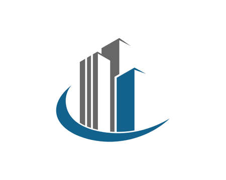 Illustration pour Real Estate , Property and Construction Logo design for business corporate sign - image libre de droit