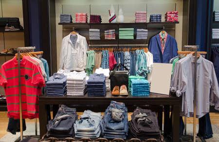Foto de A luxury store with mens clothing. - Imagen libre de derechos