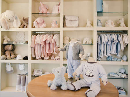 Foto de Children clothing store - Imagen libre de derechos