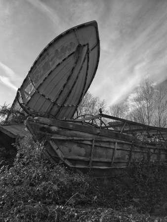 Foto de boat demolition site - Imagen libre de derechos