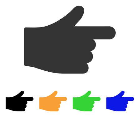 Illustration pour Index Hand icon. - image libre de droit