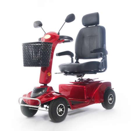 Photo pour motorized transport fot elderly or physically disabled people - image libre de droit