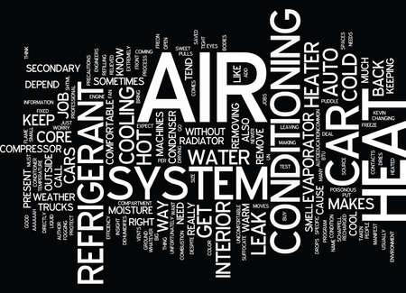 Ilustración de AUTO HVAC Text Background Word Cloud Concept - Imagen libre de derechos