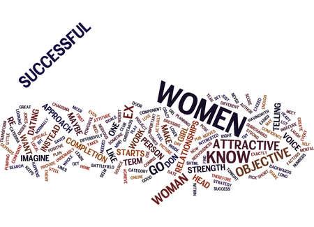 Ilustración de EXCEED YOUR LIMITS WITH WOMEN Text Background Word Cloud Concept - Imagen libre de derechos