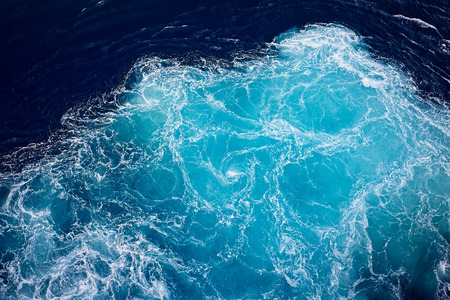 Foto de wave ocean water background. - Imagen libre de derechos