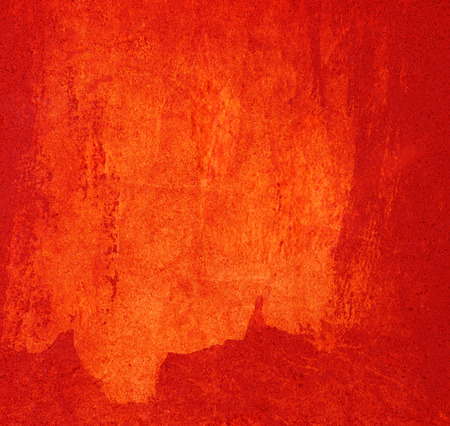 Foto per Red painted wall background - Immagine Royalty Free